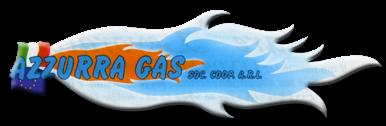 logo azzurra gas